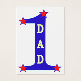 Number #1 Dad Business Card