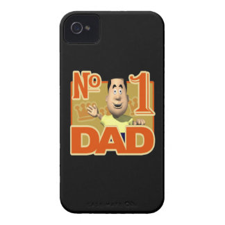 Number 1 Dad iPhone 4 Case-Mate Cases
