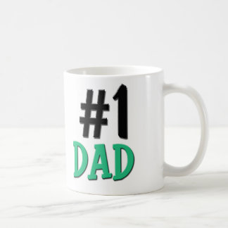Number 1 Dad Coffee Mug