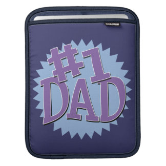 Number 1 Dad Father's Day iPad Sleeve