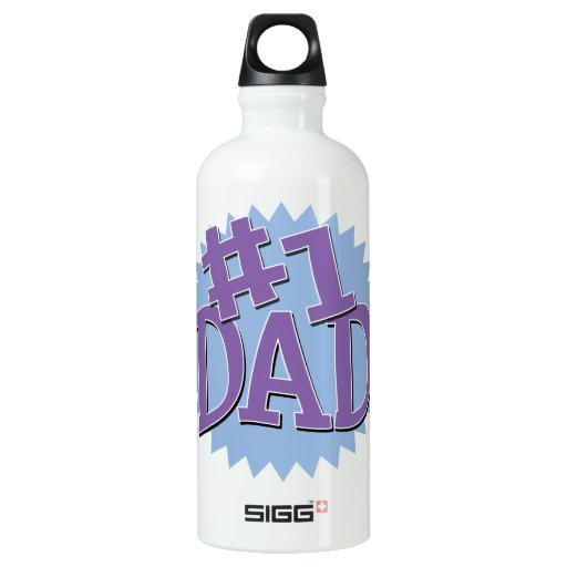 Number 1 Dad Father's Day SIGG Traveler 0.6L Water Bottle