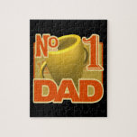 Number 1 Dad Jigsaw Puzzles