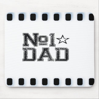 Number 1 Dad Mousepads