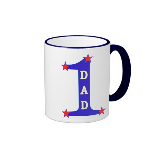 Number #1 Dad Mug