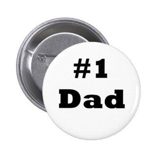Number 1 Dad Pinback Button