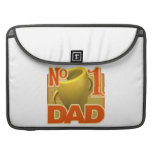 Number 1 Dad Sleeve For MacBooks