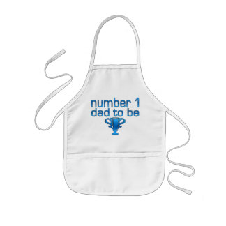 Number 1 Dad to Be Kids' Apron