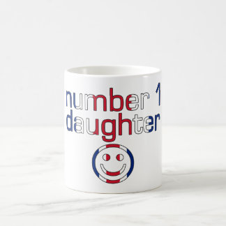 Number 1 Daughter ( Daughter's Birthday ) Mugs