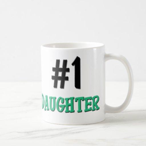 Number 1 Daughter Mugs