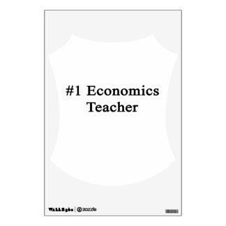Number 1 Economics Teacher Wall Decor