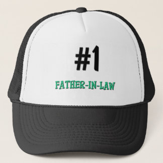 Number 1 Father-in-Law Trucker Hat