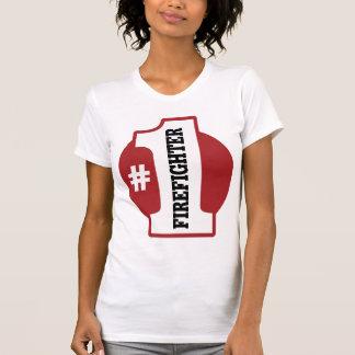 Number 1 Firefighter T-Shirt