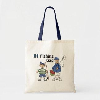 Number #1 Fishing Dad Tote Bag