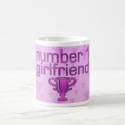Number 1 Girlfriend Coffee Mugs