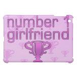 Number 1 Girlfriend iPad Mini Cover