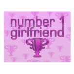 Number 1 Girlfriend Post Card