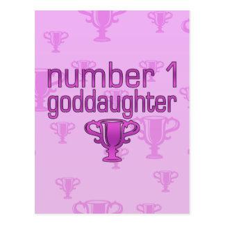 Number 1 Goddaughter Postcards