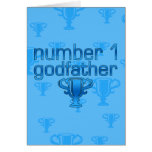 Number 1 Godfather Greeting Cards
