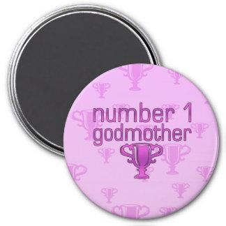 Number 1 Godmother Refrigerator Magnets