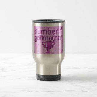 Number 1 Godmother Travel Mug