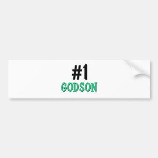 Number 1 Godson Bumper Sticker