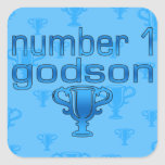 Number 1 Godson Stickers