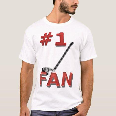 Number 1 Golf Fan T-Shirt