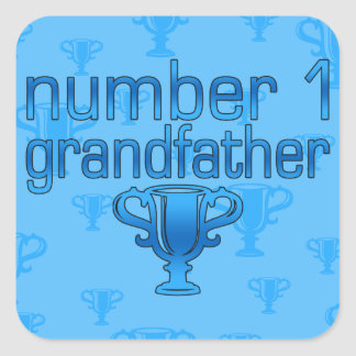 Number 1 Grandfather Sticker