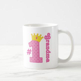 Number 1 Grandma Gift Coffee Mug