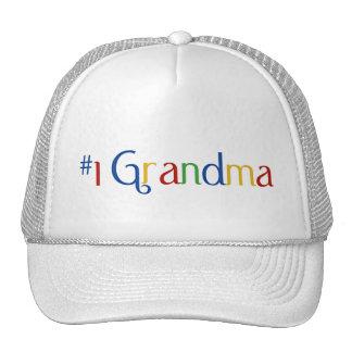 Number 1 Grandma Trucker Hat