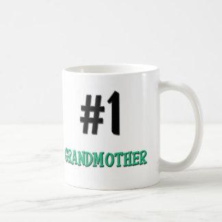 Number 1 Grandmother Classic White Coffee Mug
