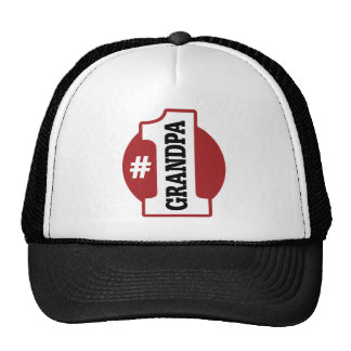 Number 1 Grandpa Trucker Hat