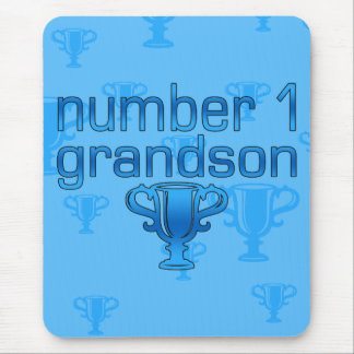Number 1 Grandson Mouse Pad