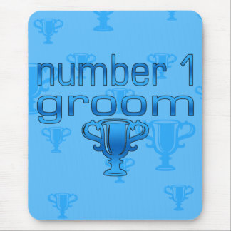 Number 1 Groom Mouse Pad