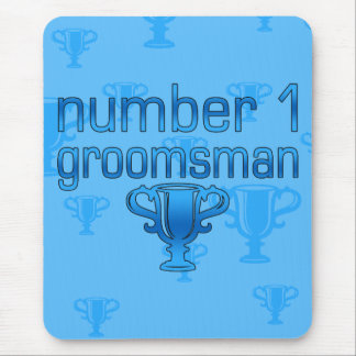 Number 1 Groomsman Mouse Pad