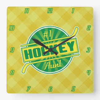 Number 1 Hockey Aunt Wall Clock