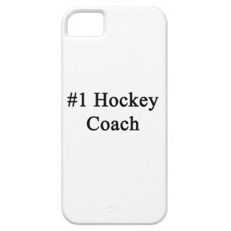 Number 1 Hockey Coach iPhone 5 Cases