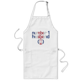 Number 1 Husband ( Husband's Birthday ) Long Apron