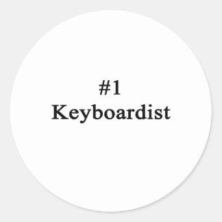 Number 1 Keyboardist Sticker