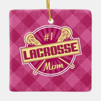 Number 1 Lacrosse Mom Decoration