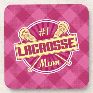 Number 1 Lacrosse Mom Drinks Coasters