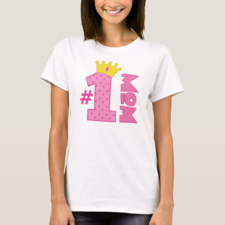 Number 1 Mom Gift T-Shirt