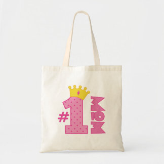 Number 1 Mom Gift Tote Bag