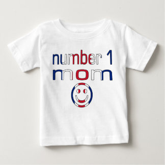 Number 1 Mom ( Mom's Birthday & Mother's Day ) Baby T-Shirt
