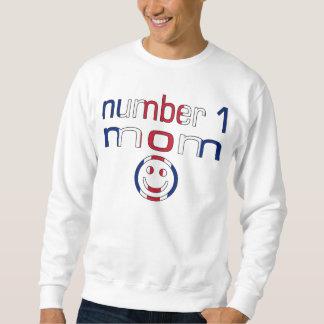 Number 1 Mom ( Mom's Birthday & Mother's Day ) Sweatshirt