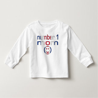 Number 1 Mom ( Mom's Birthday & Mother's Day ) Toddler T-shirt