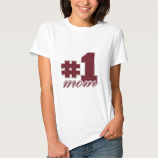 Number 1 Mom T Shirt