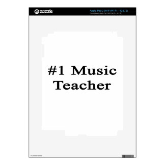 Number 1 Music Teacher iPad 3 Skin