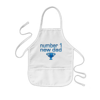 Number 1 New Dad Aprons