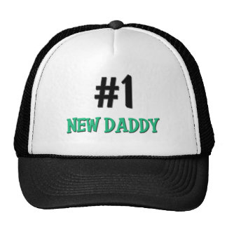Number 1 New Daddy Hat